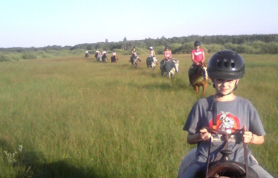 Trail Riding at Camp